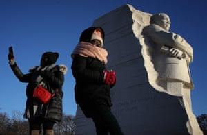 Washington DC, USA  Martin Luther King Day