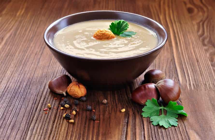 Chestnut soup.