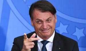 Jair Bolsonaro has so far avoided domestic criticism of his handling of the Covid crisis.