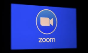 Zoom video meeting and chat app logo