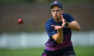 Jack Leach, who is training with England at the Aegas Bowl, says he is just 'trying to bring my best to the setup' rather than focusing on getting a berth in the side.