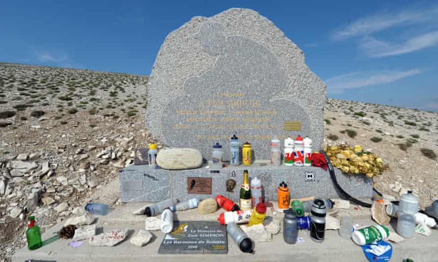 The Tom Simpson memorial on Mont Ventoux in the Alps is often on the Tour de France route but riders will not pass it in 2017.