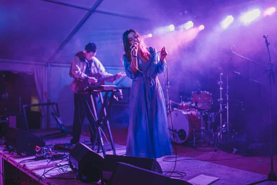 HTRK perform at Meadow