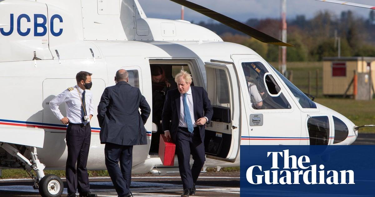 Boris Johnson took 'unnecessary' helicopter trip to promote bike scheme