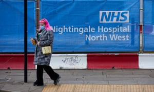 Nightingale NHS hospital in Manchester was put on standby in October to deal with an expected rise in coronavirus cases.