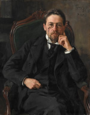 Anton Chekhov, 1898 by Iosif Braz.