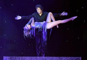 Las Vegas, USA Magician Greg Gleason and Stacey Smithson