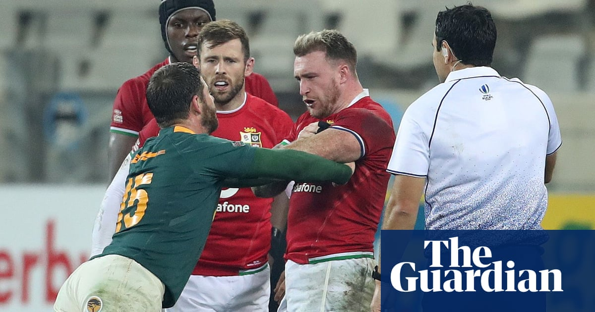 Lions' Stuart Hogg 'categorically' denies accusations of biting in second Test