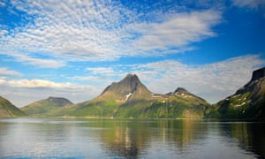 Peak time … the drama of Bergsfjorden.