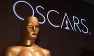 The Oscars statue at the Oscars nominees luncheon in Beverly Hills.