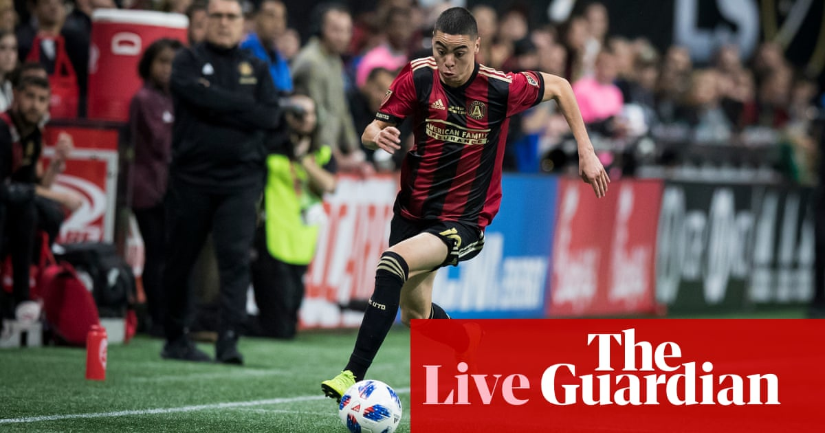 fc3a0844e33 Transfer window  Almirón arrives at Newcastle and Suárez to join Arsenal –  as it happened