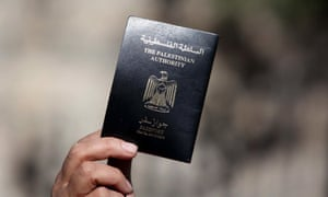 A Palestinian passport