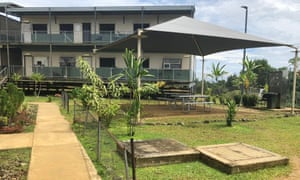 The Australian-run immigration facilities on Manus Island.