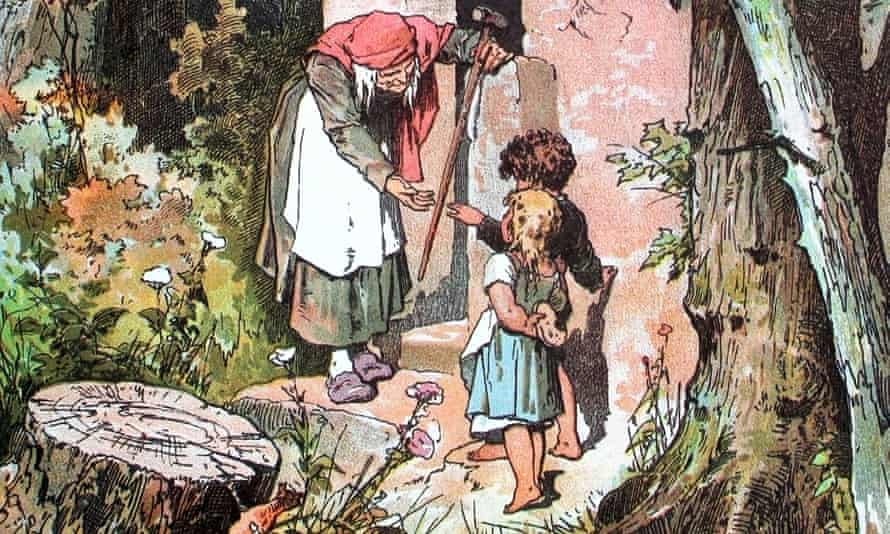 An illustration of Hansel and Gretel, exact date unknown.