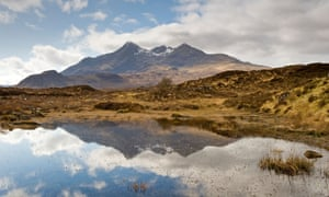 The Cuillin viewed from Sligachan