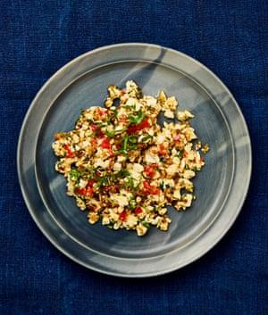 Meera Sodha's tofu akuri (AKA spiced scrambled tofu)