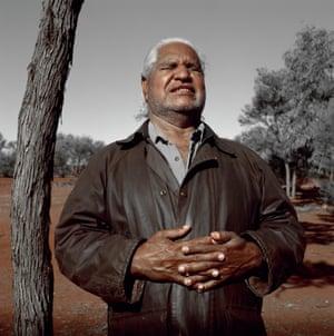 Jessie Boylan's photograph of Yankunytjatjara man Yami Lester, who was blinded in the Maralinga atomic bomb test.