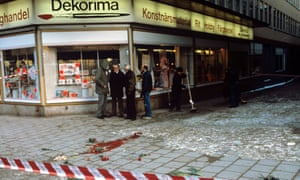 The site of Olof Palme???s assassination in Stockholm, Sweden.