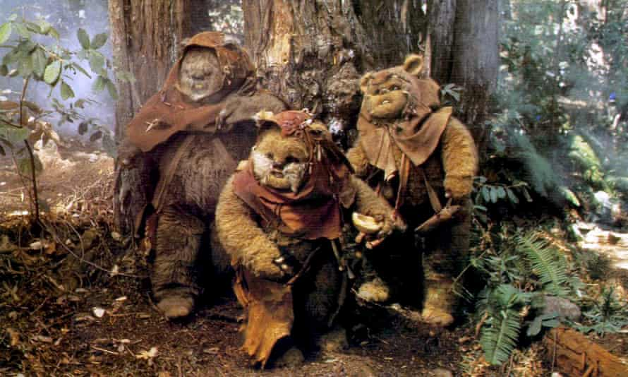 Caravan of Courage: An Ewok Adventure, one of two Return of the Jedi spin-offs.