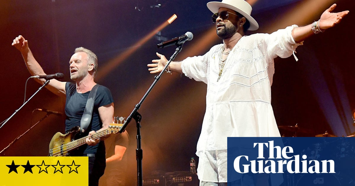 Sting & Shaggy review – pop-reggae odd couple are far from