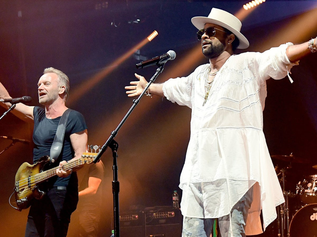 Sting & Shaggy review – pop-reggae odd couple are far from boombastic |  Sting | The Guardian