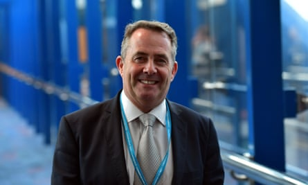 Liam Fox will need to negotiate 'an interim deal to provide cover in the years between leaving the EU and the entry into force of the free trade agreement'.
