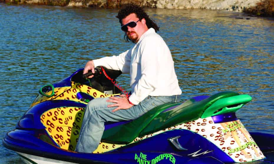 'HBO were like 'What is this? Who is this guy?' ... McBride as Eastbound and Down's Kenny Powers.
