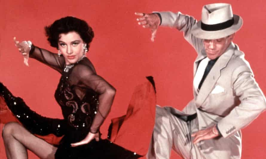 Cyd Charisse and Fred Astaire in 1953's The Band Wagon.