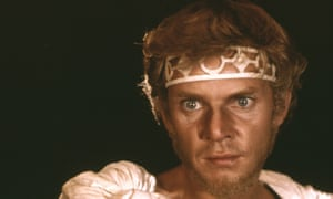 Malcolm McDowell in one of the few suitable stills from Caligula.
