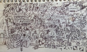 Test Draws On Doodles To Spot Signs Of >> What Your Work Doodles Really Say About You Guardian Careers The