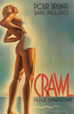 Efff D'Hey, Crawl / Huile Hawaïenne.
