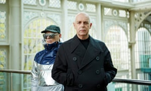 Chris Lowe and Neil Tennant of the Pet Shop Boys.