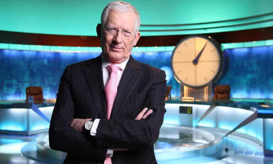 Nick Hewer, host of Countdown on Channel 4.