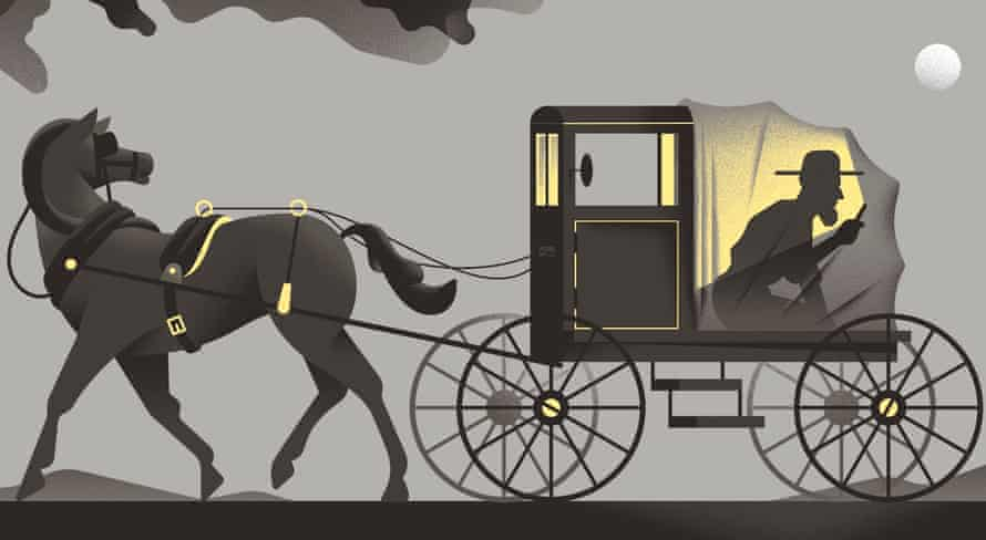 Illustration of horse and cart