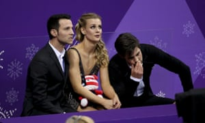 Madison Hubell and Zachary Donohue encapsulate the feelings of many US skaters in Pyeongchang