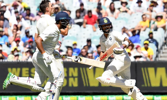Australia V India Boxing Day Test Day One As It Happened