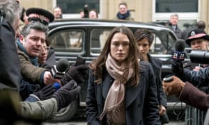 Keira Knightley as Gun in the forthcoming film Official Secrets.
