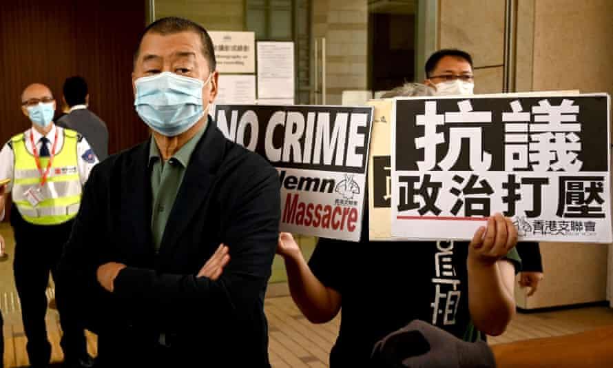 hong kong tycoon Jimmy Lai