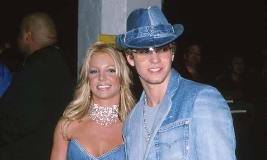 Bad jeans: Britney Spears and Justin Timberlake