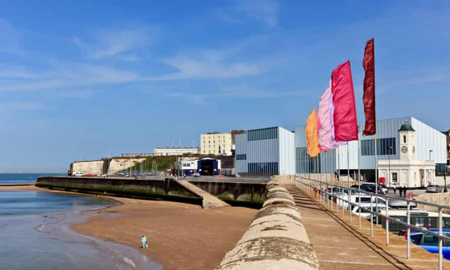 The Turner Contemporary gallery opened in Margate in 2011