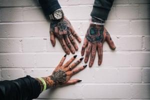 Joshua Atkinson, Kirsty King, Billy Parsons, London, Tattoo Street Style by Alice Snape