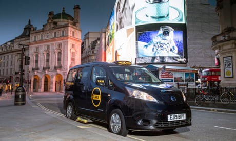 First 100% electric black cab for 120 years launches in London