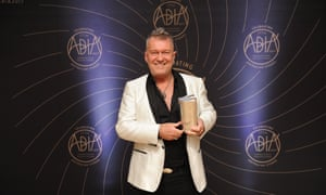 Jimmy Barnes who won biography of the year at the Australian Book Industry Awards, for Working Class Boy.