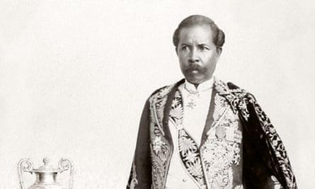 Prime minister Rainilaiarivony, whom Ranavalona was forced to marry
