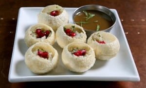 'Into your mouth whole, there's no other way': pani puri.