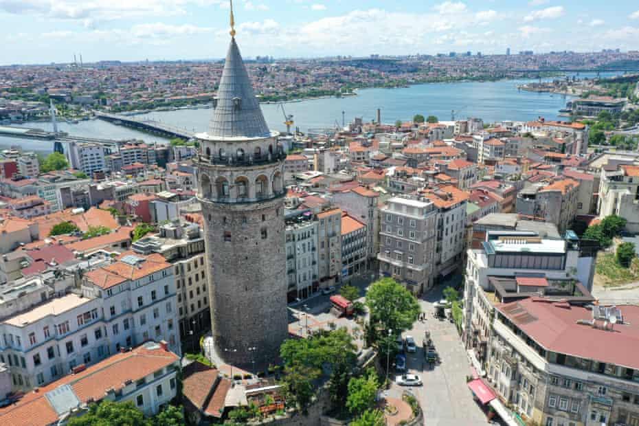 Galatatoren, Istanbul.