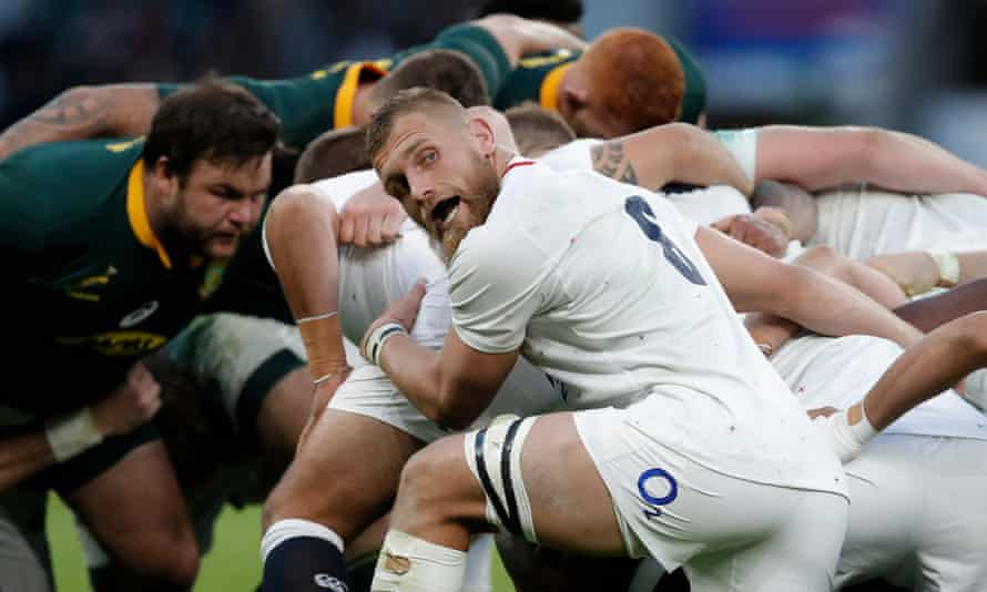 Brad Shields was used in the wide channels by England when the Test against South Africa opened up after half-time.
