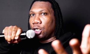 KRS-One shares the knowledge.