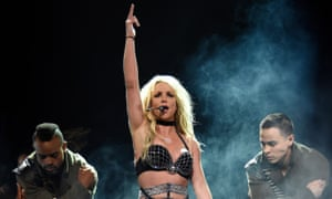 Britney Spears during her summer tour.