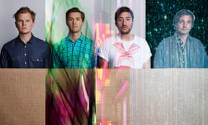Grizzly Bear from l to r: bassist and producer Chris Taylor; drummer Chris Bear; singer Edward Droste; guitarist and vocalist Daniel Rossen